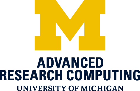 U-M Advanced Research Computing Logo