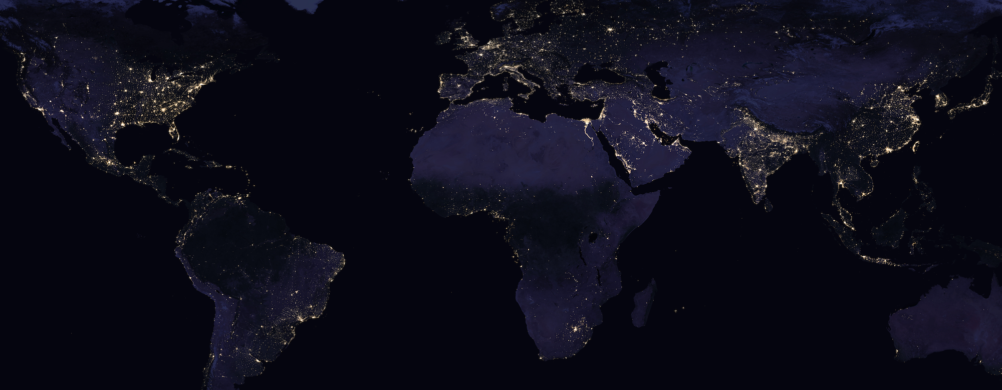 Global Nightlights Map